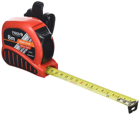 Fisco 8m Carded Brickmate Measuring Tape