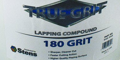 Lapping Compound, 180 Grit, 1 Pound