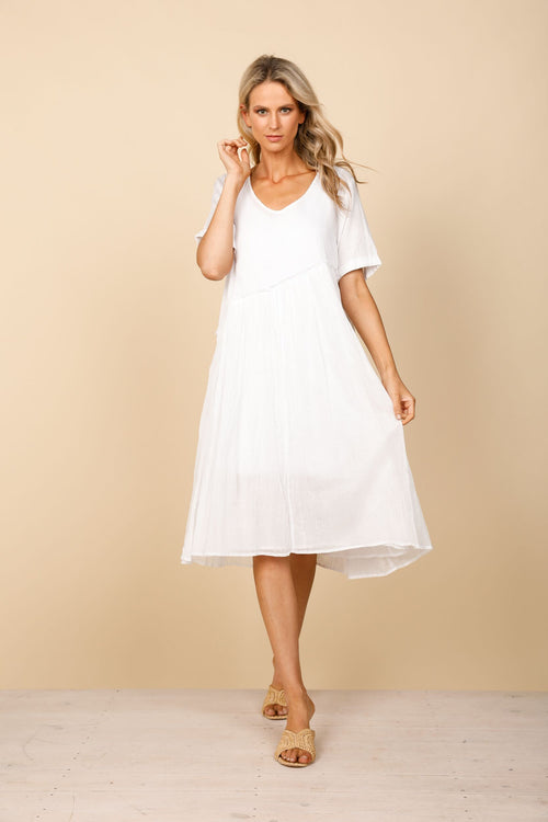 Aruba Dress - White