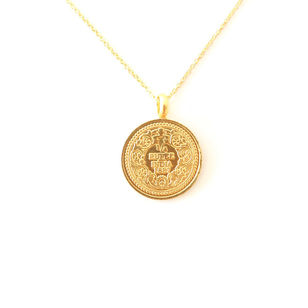 Hope Coin 1/4 Rupee Gold