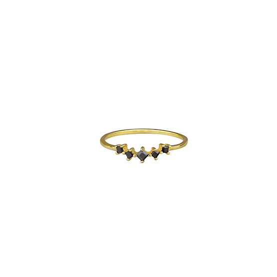 Cassia Ring - Black