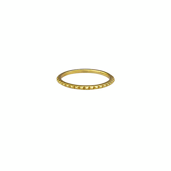 Rosalie Sterling Silver Ring - Gold