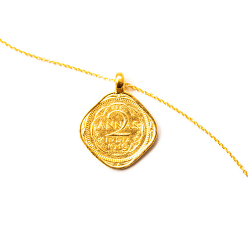 Hope Coin 2 Annas - Gold