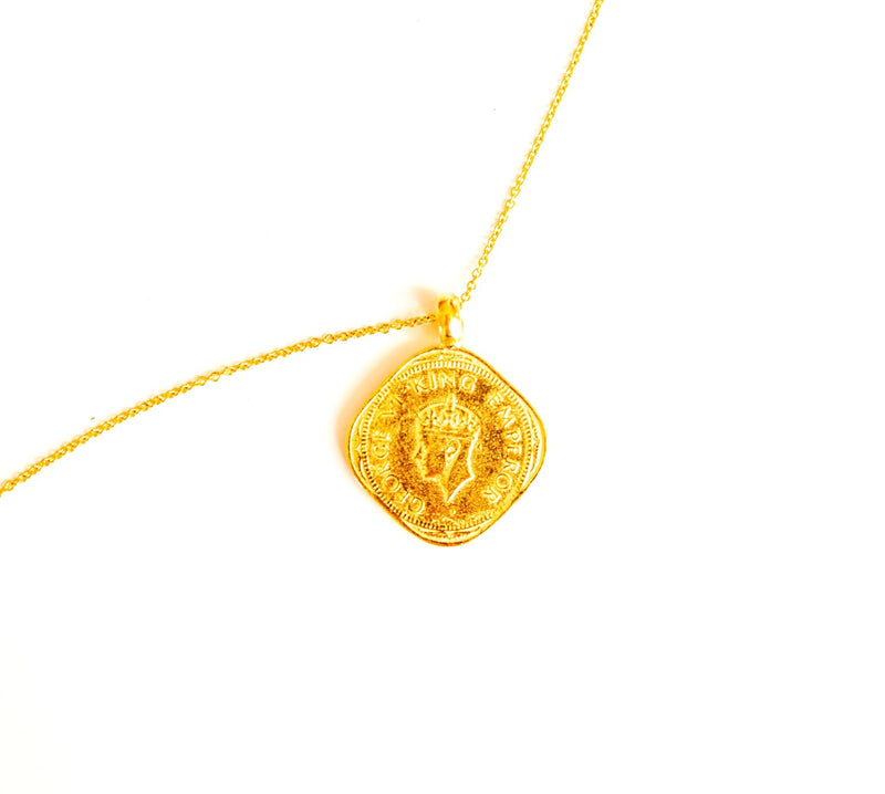 Hope Coin 2 Annas - Gold - BACK SOON