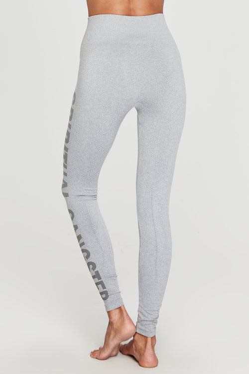 Spiritual Gangster High Rise Leggings - Heather Grey