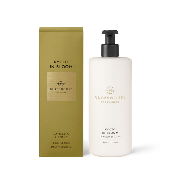 Kyoto In Bloom - 400ml Body Lotion