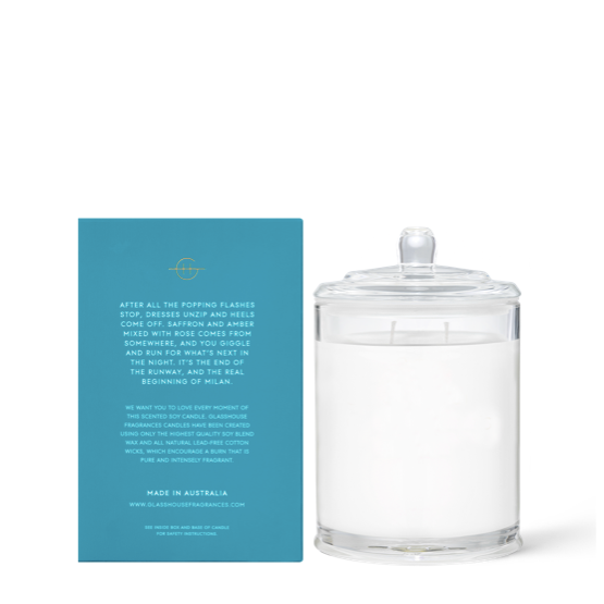 Midnight Milan - 380g Candle