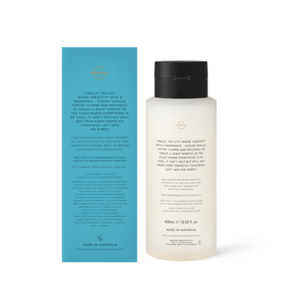 Melbourne Muse - 400ml Shower Gel