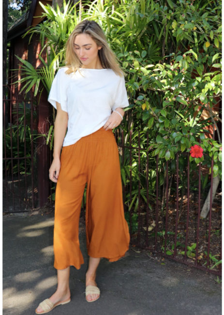 Padma Pants - Rust