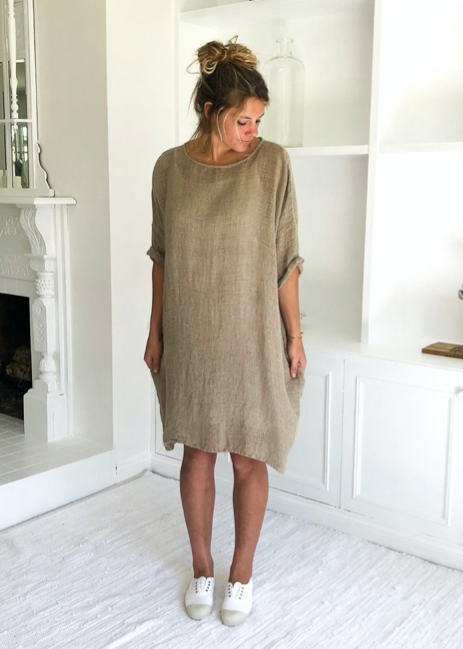 Avalon Linen Dress