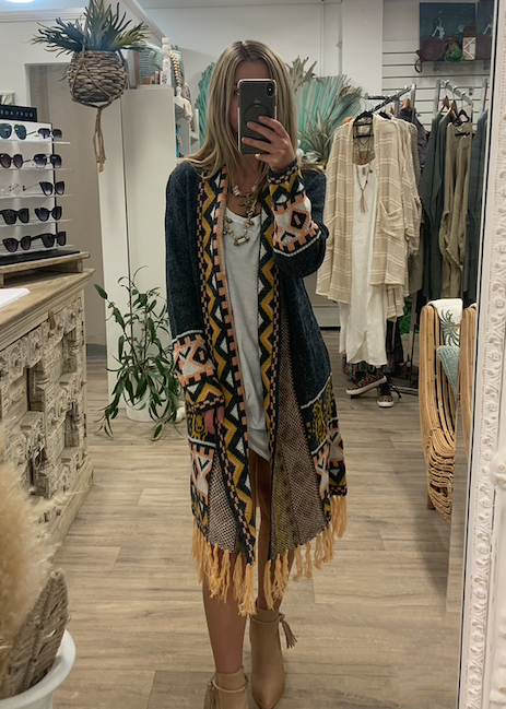 Aztec Lover Coat