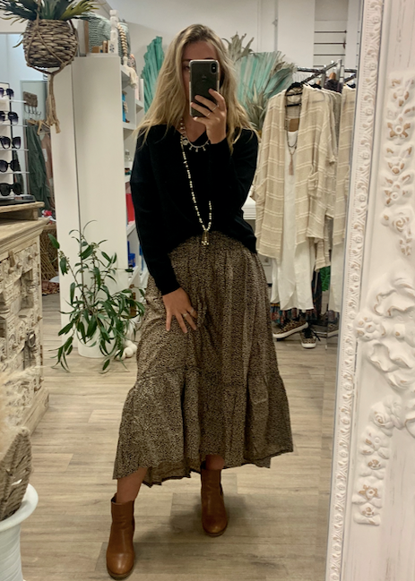 Laguna Skirt - Cheetah