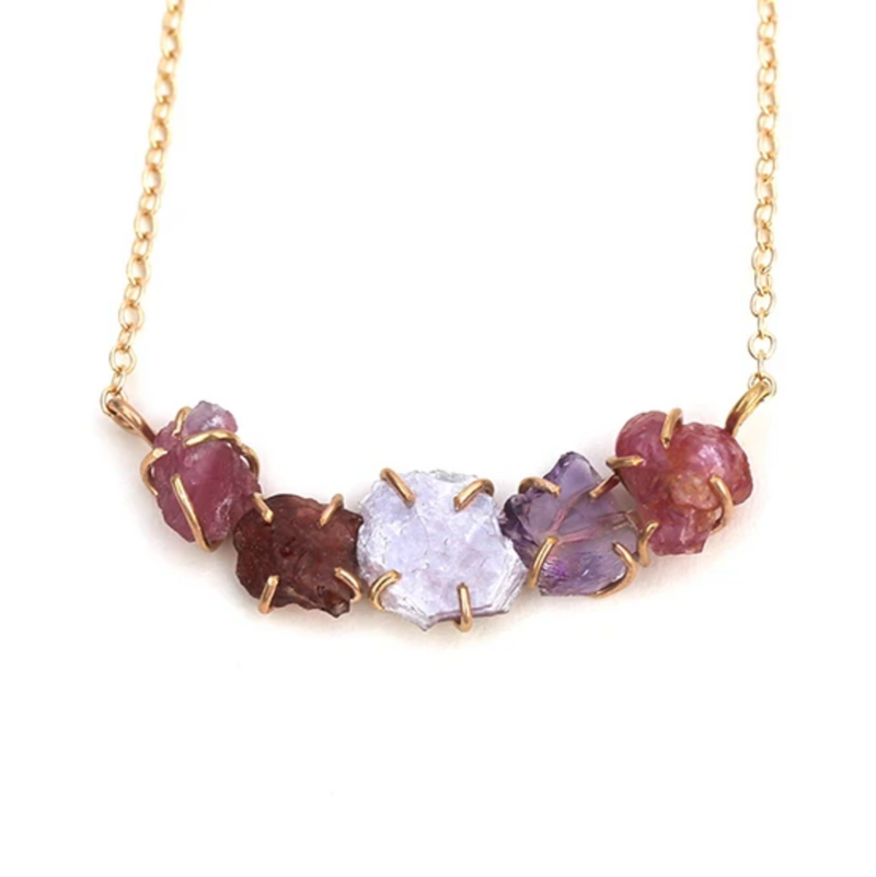 Ayse Necklace - Pink