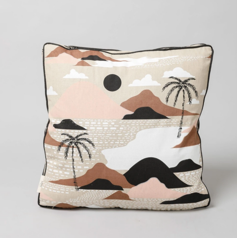 Hula Girl Cushion - Mimosa