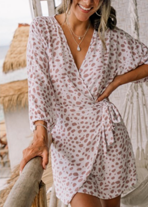 Portofino Wrap Dress