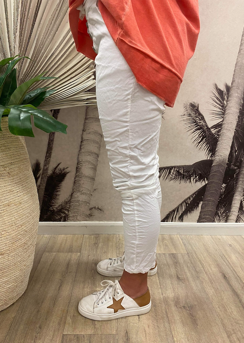 Riviera Pants - White