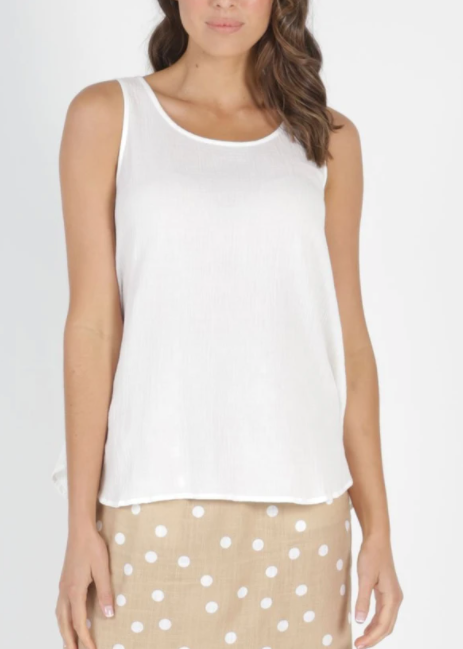 Chandler Top - White