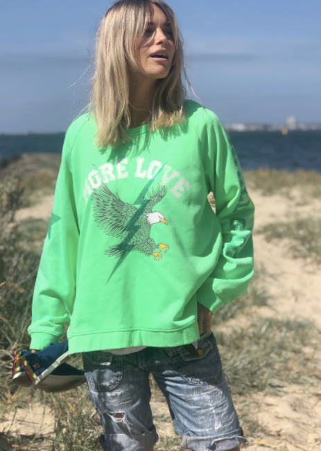 Green - Eagle Sweat