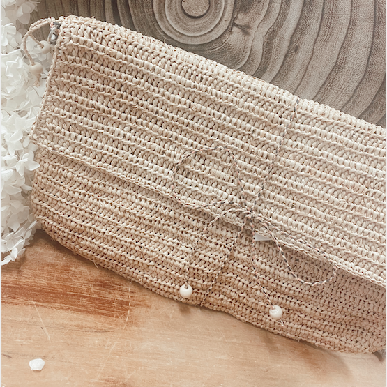 Gersende Clutch - Natural