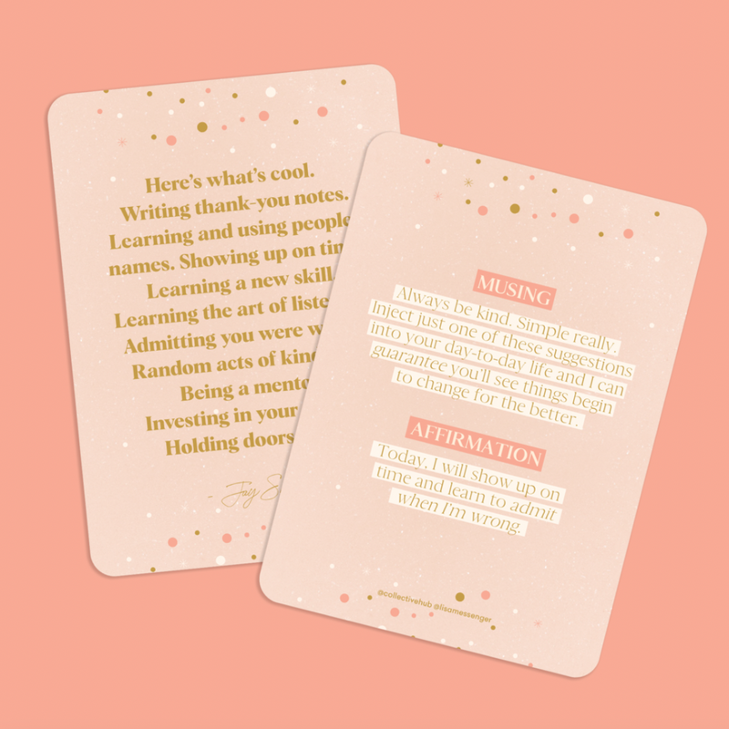 Daily Mantras Affirmations To Guide Your Journey - Card Deck