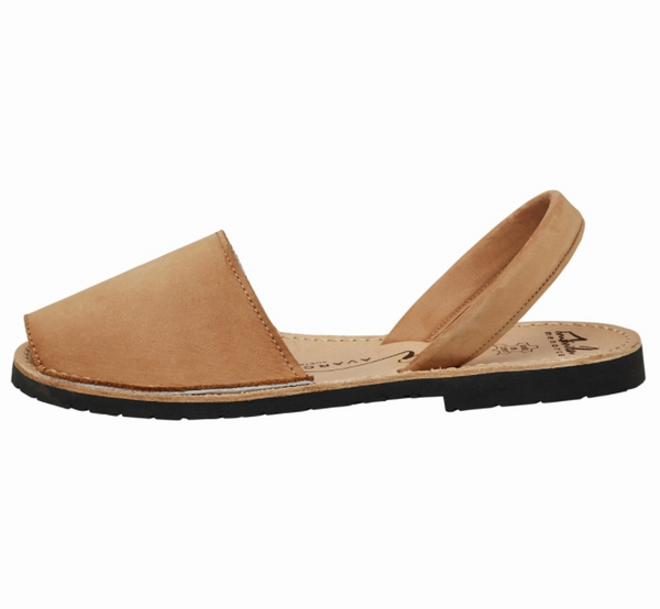 Tan Nubuck Sandals