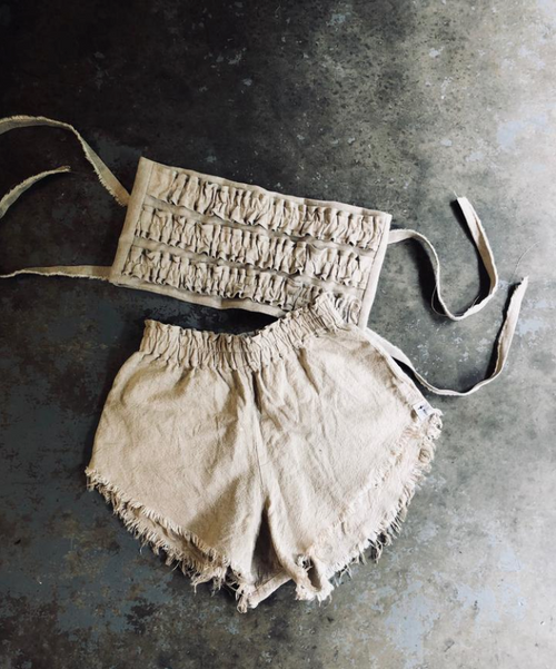 Lolita Shorts Beige -BACK IN STOCK