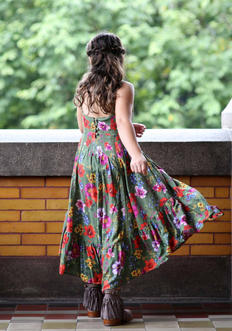 Esmeralda Maxi Dress in Dandelion