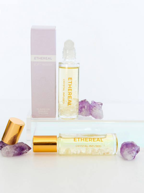 Ethereal Crystal Perfume Roller - 15mL