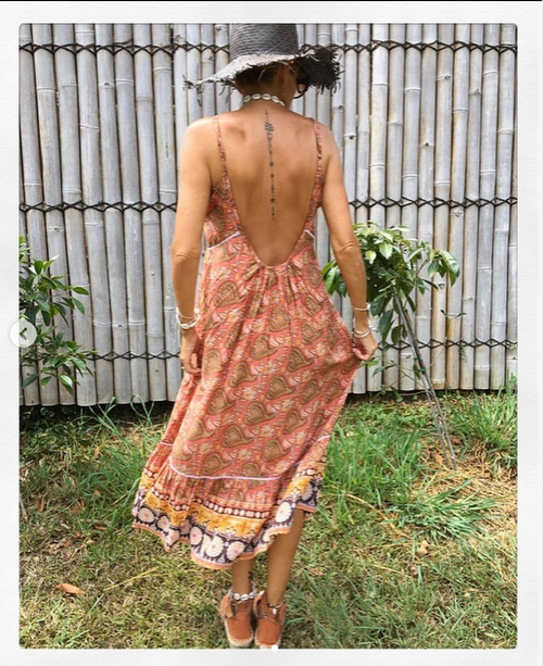 Venus Dress - Marrakech Print