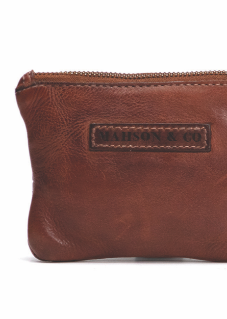The Gypsy Concept - Coin Purse Tan