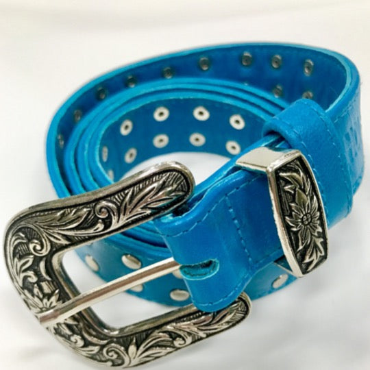 Faith Belt Turquoise