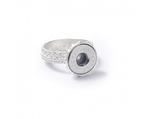 Noosa Petite Planet Ring - Silver