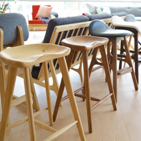 4a956158eeca Tolix Bar Stool: These barstools are designed after designer commercial  grade barstools which can be found in many art pieces and occasionally in  ...