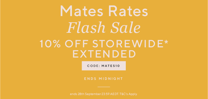 Flash Sale Ends