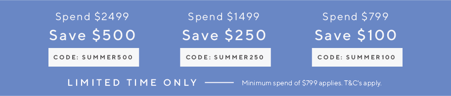 Summer spend and save