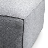Casey 3 Seater Right Chaise Sofa - Coin Grey