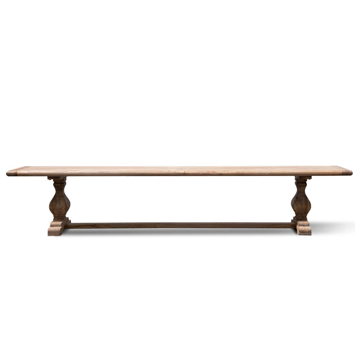 Titan Reclaimed 2.4m ELM Wood Bench - Natural