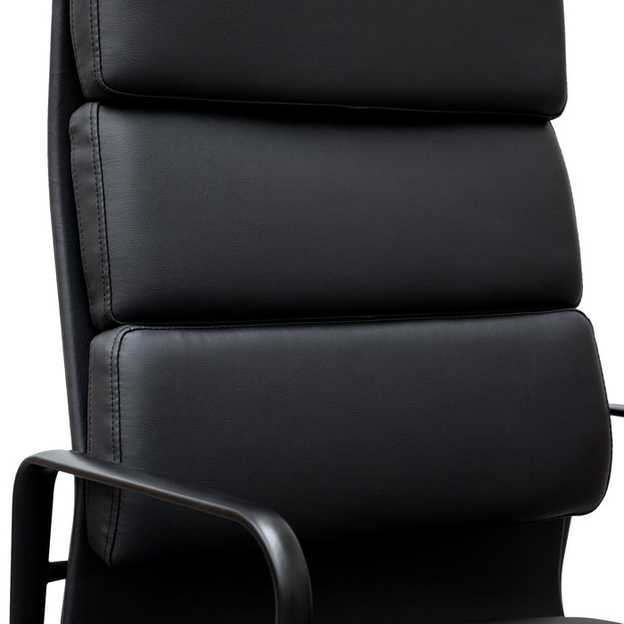 Ashton High Back Office Chair - Full Black