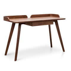 Isotta 123cm Home Office Desk – Walnut