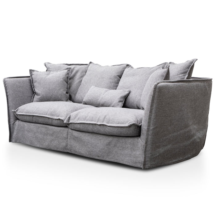 Homestead 3 Seater Fabric Sofa - French Grey