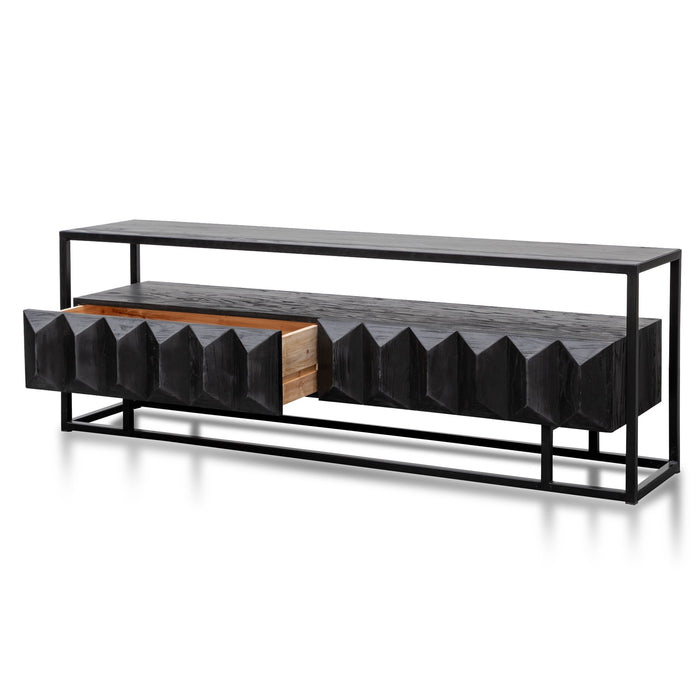 Nadine 1.8m TV Entertainment Unit - Full Black