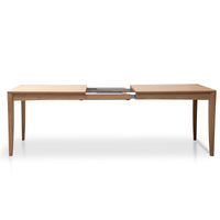 Eldora Extendable Wooden Dining Table - Natural