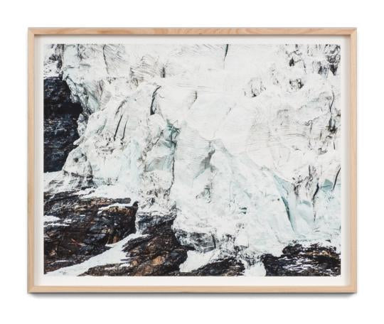 Highland Glacier Wall Art Print