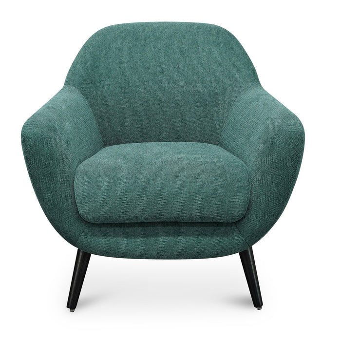 Lorene Armchair - Green Fabric