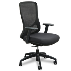 Braddon Mesh Office Chair - Black