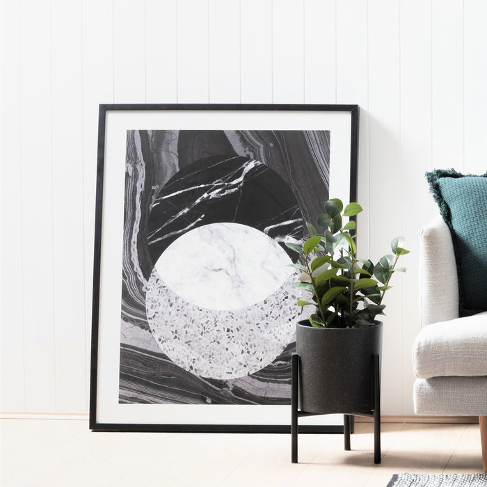 Infinity Wall Art Print - Black