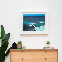 Bondi Bath Wall Art Print