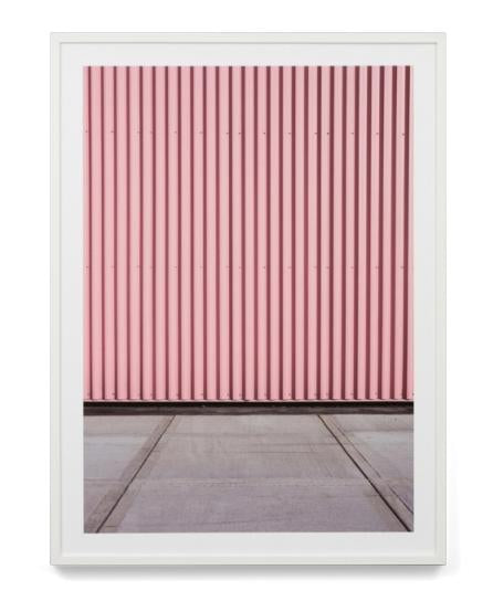 Pink Architecture Wall Art Print