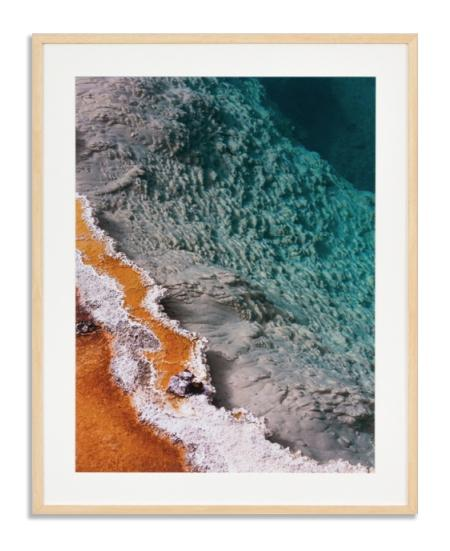 Natural Ocean Sediment Wall Art Print