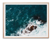 Rocky Coastline Wall Art Print